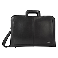 Targus Executive TBT261US Carrying Case (Briefcase) for 15.6' Notebook - Black - Shock Absorbing - Polyurethane, Neoprene Interior - Handle - 15.1' Height x 17.5' Width x 4.3' Depth