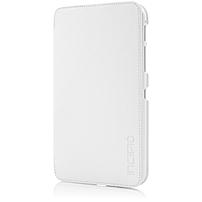 Incipio Watson Carrying Case (Folio) for 7' Tablet - White, Teal - Vegan Leather, Plextonium, Microsuede Interior - 7.6' Height x 4.7' Width x 0.8' Depth