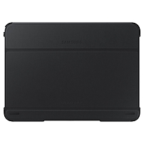 Samsung Carrying Case (Book Fold) for 10.1' Tablet - Black - 7.1' Height x 9.7' Width x 0.5' Depth