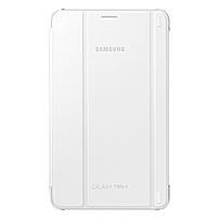 Samsung Carrying Case (Book Fold) for 8' Tablet - White - 8.3' Height x 5' Width x 0.5' Depth