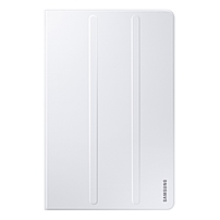 Samsung Carrying Case (Book Fold) for 10.1' Tablet - White - Polyurethane, Synthetic Leather - 0.5' Height x 6.5' Width x 10' Depth