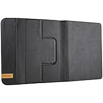 OtterBox Agility Keyboard/Cover Case (Portfolio) for iPad Air, iPad Air 2 - Black - Polycarbonate, Faux Leather, Microfiber Suede