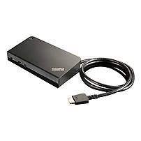 Lenovo ThinkPad Onelink+ Dock - for Notebook - USB 3.0 - 6 x USB Ports - 2 x USB 2.0 - 4 x USB 3.0 - Network (RJ-45) - VGA - DisplayPort - Microphone - Wired