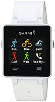 Garmin Vivoactive 010-01297-11 Smart Watch With Heart Rate Monitor - Bluetooth - White