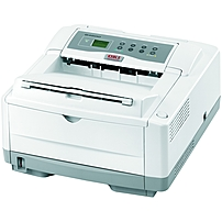 Oki B4600 LED Printer - Monochrome - 600 x 2400 dpi Print - Plain Paper Print - Desktop - 27 ppm Mono Print - A4, A5, A6, Letter, Legal, Executive, B5, C5 Envelope, DL Envelope, Com 9 Envelope, Com10