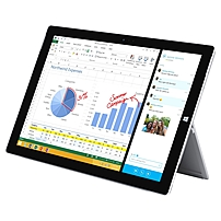 Microsoft Surface Pro 3 PU2-00001 Tablet PC - Intel Core i7-4650U 1.7 GHz Dual-Core Processor - 8 GB LPDDR3 SDRAM - 512 GB Solid State Drive - 12-inch Touchscreen Display - WIndows 8.1 Professional 64