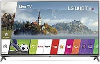 LG Electronics 75UJ6470 75-inch 4K UHD Smart LED TV - 3840 x 2160 - 16:9 - 120 Hz - HDMI,USB - WebOS 3.5