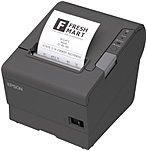 Epson Direct Thermal Printer - Monochrome - Receipt Print - 11.81 in/s Mono - 4 KB - USB - Serial - Receipt, Direct Thermal Paper - 3.15' Label Width