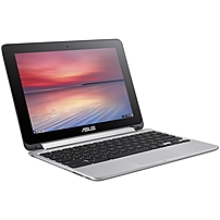 Asus Chromebook Flip C100PA-DB02 10.1' Touchscreen LCD 2 in 1 Notebook - Rockchip Cortex A17 RK3288 Quad-core (4 Core) 1.80 GHz - 4 GB LPDDR3 - Chrome OS - 1280 x 800 - In-plane Switching (IPS) Techno