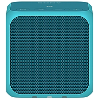 Sony SRS-X11 Speaker System - 10 W RMS - Yes - Battery Rechargeable - Wireless Speaker(s) - Blue - 20 Hz - 20 kHz - Bluetooth - Near Field Communication - USB - Sub Band Coding (SBC), Built-in Microph