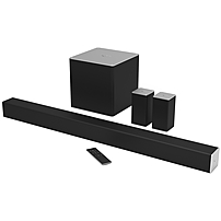 VIZIO 5.1 Sound Bar Speaker - Placement: Table Mountable, Wall Mountable - Wireless Speaker(s) - 50 Hz - 20 kHz - Dolby Digital, DTS Circle Surround, DTS TruSurround, DTS TruVolume, DTS Studio Sound,