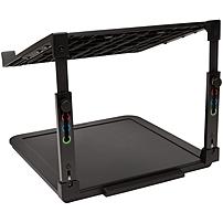 Kensington SmartFit Laptop Riser - Up to 15.6' Screen Support - 7.70 lb Load Capacity - 8.7' Height x 10.1' Width x 9.8' Depth - Desktop - Black