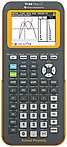 Texas Instruments TI-84 Plus CE Graphing Calculator - Clock, Date/Time Display, Impact Resistant Cover, Slide-on Hard Case - Battery Powered - 10 Pack