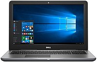 Dell Inspiron I5567-9110GRY Notebook PC - Intel Core i7-7500U 2.7 GHz Dual-Core Processor - 16 GB RAM - 1 TB Hard Disk Drive - 15.6-inch Touchscreen Display - Windows 10 Home 64-bit - Gray