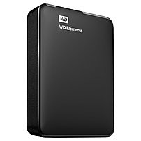 2TB WD Elements USB 3.0 high-capacity portable hard drive for Windows - USB 3.0 - Portable