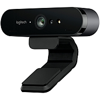 Logitech BRIO Webcam - 90 fps - USB 3.0 - 4096 x 2160 Video - Auto-focus - 5x Digital Zoom - Microphone - Notebook