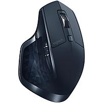 Logitech MX Master Wireless Mouse - Darkfield - Wireless - Bluetooth - Navy Blue - USB - 1600 dpi - Computer - Scroll Wheel - 7 Button(s)
