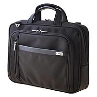 Codi Protégé Carrying Case for 15.6' Notebook, Pen, Cellular Phone, File, Key, Accessories, Business Card - Black - Strain Resistant Shoulder Strap - Ballistic Nylon, Nylon Interior - Ha