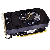 PNY GeForce GTX 750 Ti Graphic Card - 1.02 GHz Core - 2 GB GDDR5 - Dual Slot Space Required - 5400 MHz Memory Clock - 128 bit Bus Width - 4096 x 2160 - DirectX 11.2, OpenGL 4.4 - 1 x HDMI - 2 x Total