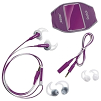 Bose SIE2i sport Headphones - Stereo - Purple - Wired - Earbud - Binaural - In-ear - 2.63 ft Cable - Omni-directional Microphone
