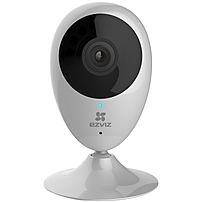 EZVIZ Mini O 720p HD Wi-Fi Home Video Monitoring Security Camera, Smart Home Enabled using IFTTT - 15 ft Night Vision - H.264 - 1280 x 720 - 2.80 mm - CMOS - Wireless, Cable - IFTTT Supported