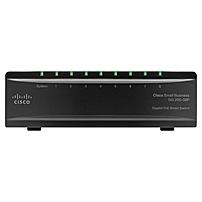 Cisco SG200-08P Gigabit PoE Smart Switch - 8 Port - 4, 4 x 10/100/1000Base-T - , 10/100/1000Base-T - Yes x Slot