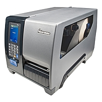Intermec PM43 Direct Thermal/Thermal Transfer Printer - Monochrome - Desktop - Label Print - 4.25' Print Width - 12 in/s Mono - 203 dpi - 128 MB - Wireless LAN - USB - Serial - Ethernet - Touchscreen