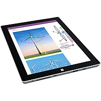 Microsoft Surface 3 Tablet - 10.8' - 2 GB DDR3 SDRAM - Intel Atom x7-Z8700 Quad-core (4 Core) 1.60 GHz - 64 GB SSD - Windows 8.1 64-bit - 1920 x 1280 - ClearType - Black - 3:2 Aspect Ratio - microSD M