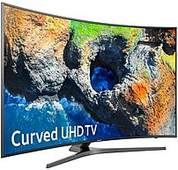 "Samsung 65"" Class (64.5"" Diag.) LED Curved 2160p Smart 4K Ultra HD TV with High Dynamic Range Dark titan UN65MU7500FXZA"