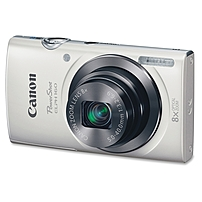 "Canon PowerShot ELPH 160 20Megapixel Compact Camera - White - 2.7"" LCD - 16:9 - 8x Optical Zoom - 4x - Digital (IS) - TTL - 5152 x 3864 Image - 1280 x 720 Video - HD Movie Mode 0140C001"