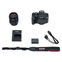 "Canon EOS Rebel T6 18 Megapixel Digital SLR Camera with Lens - 18 mm - 55 mm - 3"" LCD - 16:9 - 3.1x Optical Zoom - TTL - 5184 x 3456 Image - 1920 x 1080 Video - HDMI - PictBridge - HD Movie Mode - Wireless LAN 1159C003"