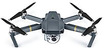 DJI CP.PT.000500 Mavic Pro Quadcopter with Remote Controller - Gray