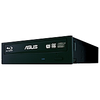 """Asus BW-16D1HT Blu-ray Writer - BD-R/RE Support - 48x CD Read/48x CD Write/24x CD Rewrite - 12x BD Read/16x BD Write/2x BD Rewrite - 16x DVD Read/16x DVD Write/8x DVD Rewrite - Quad-layer Media Supported - SATA - 5.25"""" - 1/2H BW-16D1HT"""