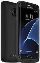 Mophie juice pack 3409 Battery Case for Samsung Galaxy S7 Edge Smartphone - Black