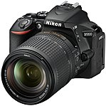 Nikon D5600 DSLR Camera with AF-S DX NIKKOR 18-140mm f/3.5-5.6G ED VR Lens Black 1577