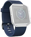 Fitbit Blaze Classic Band - Blue - Elastomer, Stainless Steel FB159ABBUL