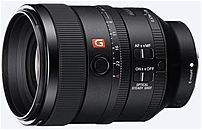 Sony G Master FE 100mm f/2.8 Telephoto Lens for Sony E-mount Black SEL100F28GM