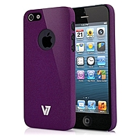 V7 Technology SAND FINISH DURABLE PC COVER-PUR - iPhone -...