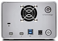 G-Technology G-RAID Removable 16TB 2-Bay External Thunderbolt, USB 3.0 Storage silver 0G04097