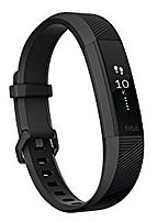 Fitbit FB408GMBKS Alta HR Activity Tracker With Heart Rate Monitor - Gunmetal