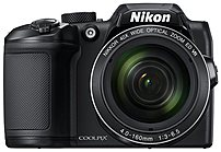 Nikon COOLPIX B500 16.0-Megapixel Digital Camera Black 26506