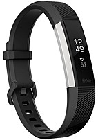 Fitbit FB408SBKL Alta HR Activity Tracker with Heart Rate Monitor - Large - Black
