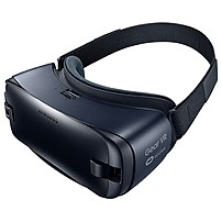 Samsung Gear VR SM-R323NBKAXAR Virtual Reality Glasses - For Smartphone - AMOLED - Blue Black