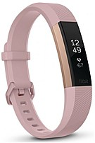 Fitbit FB408RGPKS Alta HR Activity Fitness Tracker with Heart Rate Monitor - Small - Soft Pink/Rose Gold