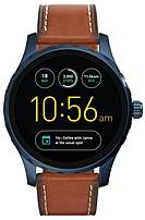 Fossil FTW2106 Q Marshal Generation 2 Smartwatch - 1.8-Inch Case Diameter - Brown Leather