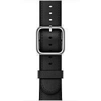 Apple 42mm Black Classic Buckle - Black - Calf Leather MPWR2AM/A
