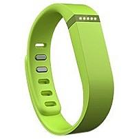 Fitbit Flex Wireless Activity + Sleep Wristband - Wrist - Accelerometer - Alarm - Heart Rate - Bluetooth - Bluetooth 4.0 - Near Field Communication - 120 Hour - Lime - Elastomer, Stainless Steel Clasp