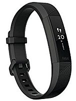 Fitbit FB408GMBKL Alta HR Activity Tracker with Heart Rate Monitor - Special Edition - Large - Black Gunmetal