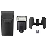 Sony HVL-F32M Adjustable Flash - Manual, TTL - Guide Number 0 m/0.3 ft - Recycle Time 5 Second - 34° Vertical, 46° Horizontal - 2 x Batteries Supported - AA - Shoe Mount