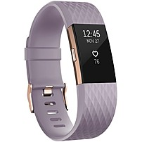 Fitbit Charge 2 Smart Band - Wrist - Accelerometer, Altimeter, Optical Heart Rate Sensor - Calendar, Silent Alarm, Alarm, Text Messaging - Heart Rate, Sleep Quality, Calories Burned, Steps Taken, Dist